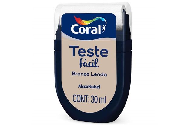 Teste Fácil Bronze Lenda 30ml - Coral