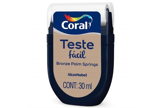 Teste Fácil Bronze Palm Springs 30ml - Coral