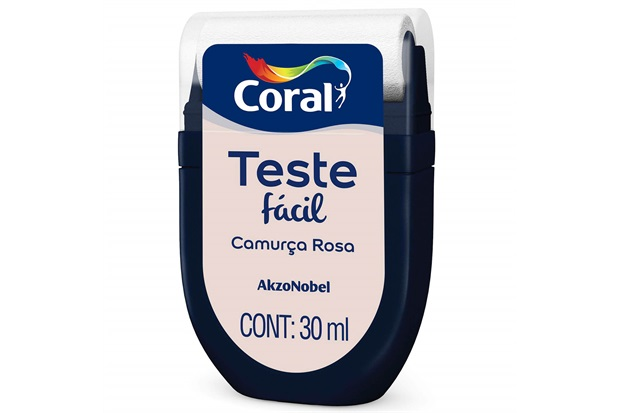 Teste Fácil Camurça Rosa 30ml - Coral