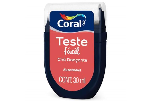 Teste Fácil Chá Dançante 30ml - Coral