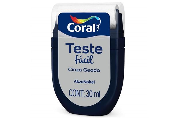 Teste Fácil Cinza Geada 30ml - Coral