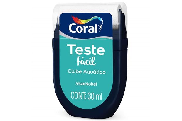 Teste Fácil Clube Aquático 30ml - Coral