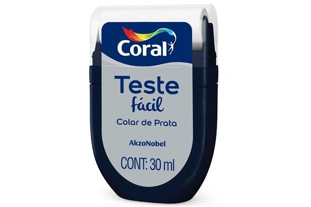 Teste Fácil Colar de Prata 30ml - Coral
