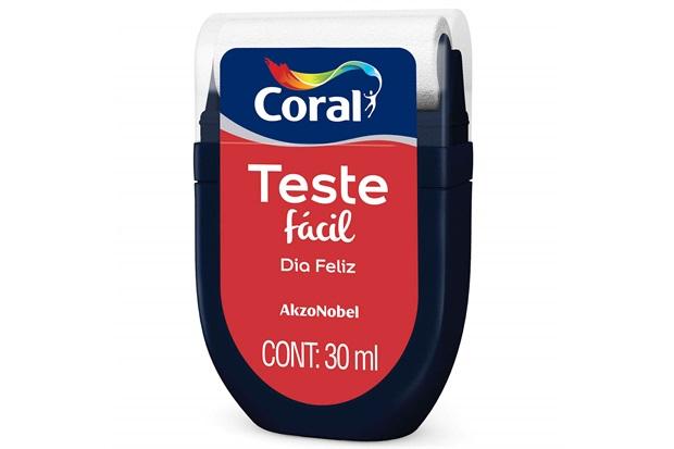 Teste Fácil Dia Feliz 30ml - Coral