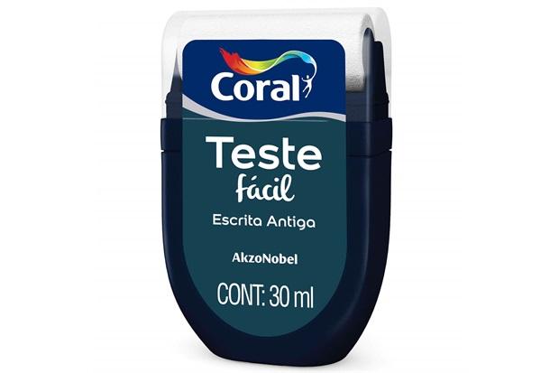 Teste Fácil Escrita Antiga 30ml - Coral
