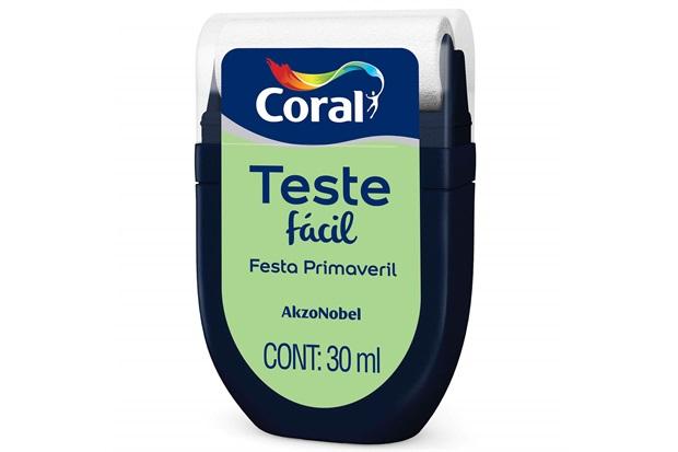 Teste Fácil Festa Primaveril 30ml - Coral