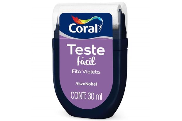 Teste Fácil Fita Violeta 30ml - Coral
