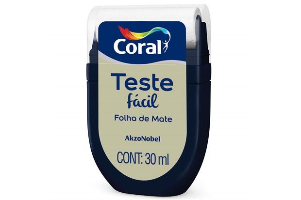 Teste Fácil Folha de Mate 30ml - Coral