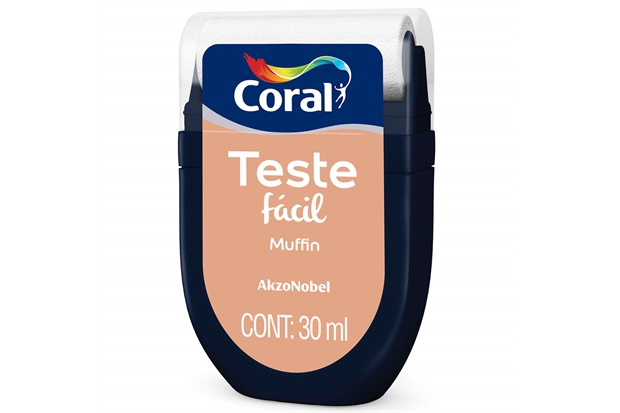 Teste Fácil Muffin 30ml - Coral