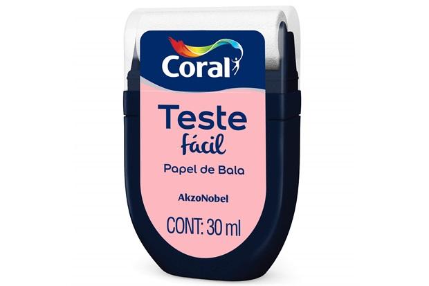 Teste Fácil Papel de Bala 30ml - Coral