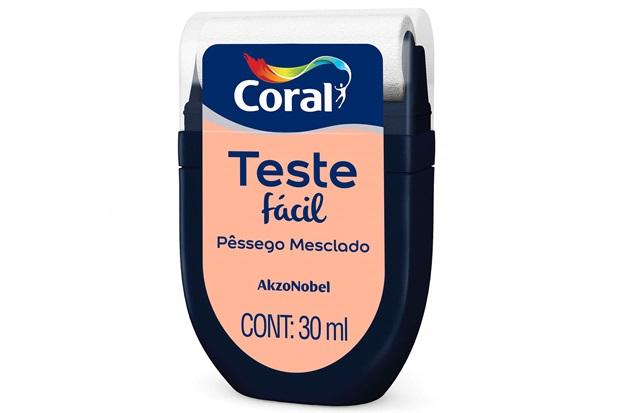 Teste Fácil Pêssego Mesclado 30ml - Coral
