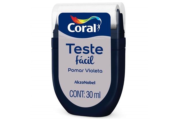 Teste Fácil Pomar Violeta 30ml - Coral