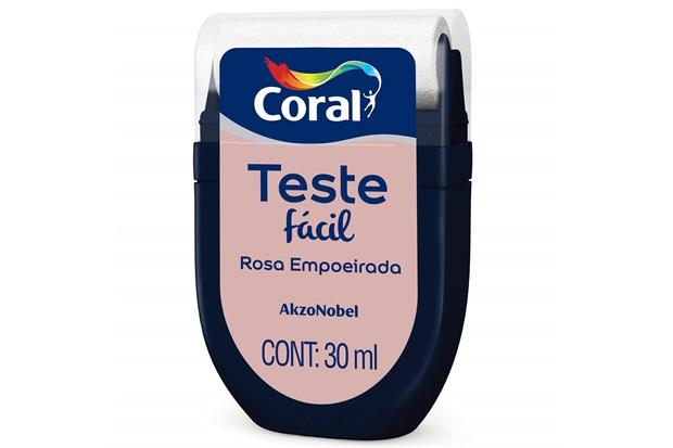 Teste Fácil Rosa Empoeirada 30ml - Coral