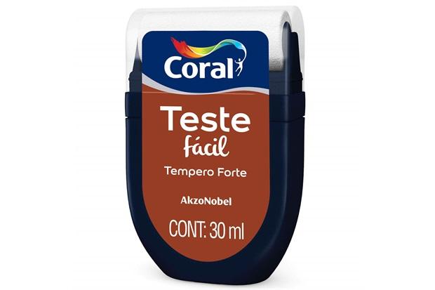 Teste Fácil Tempero Forte 30ml - Coral