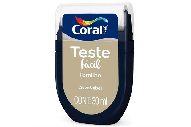 Teste Fácil Tomilho 30ml - Coral