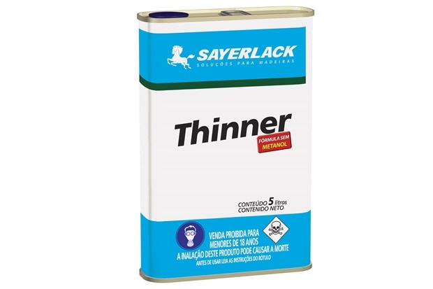 Thinner Profissional Sayerlack 5 Litros - Sayerlack