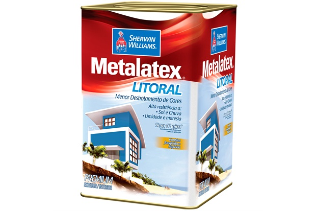 Tinta Acetinada Premium Metalatex Litoral Terracota 18 Litros - Sherwin Williams