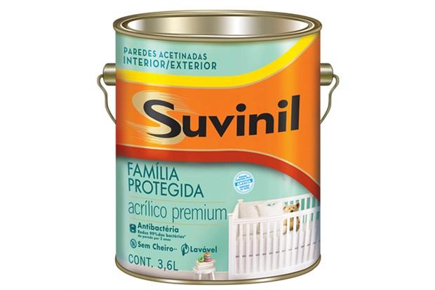 Tinta Acrílica Antibactéria Branco 3,6 Litros - Suvinil