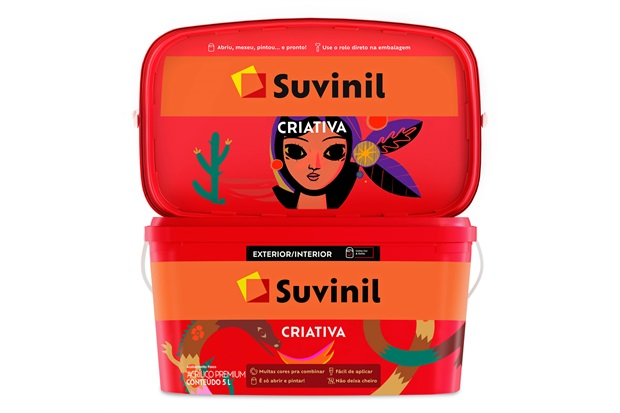 Tinta Acrílica Fosca Criativa Rio Serrano 5 Litros - Suvinil