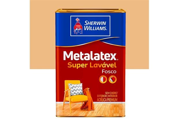 Tinta Acrílica Fosco Mel 18 Litros  - Metalatex - Sherwin Williams