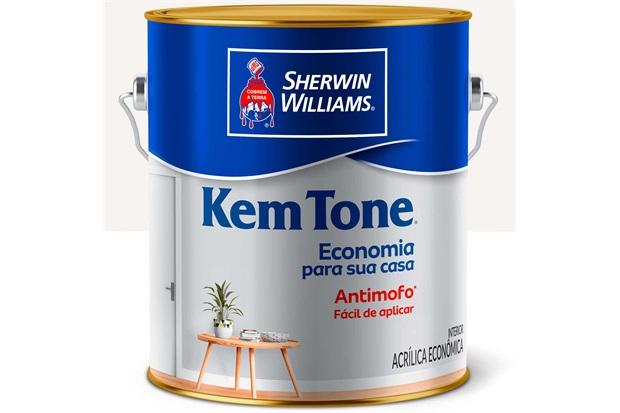 Tinta Acrílica Kem Tone Branca 3,6 Litros - Sherwin Williams