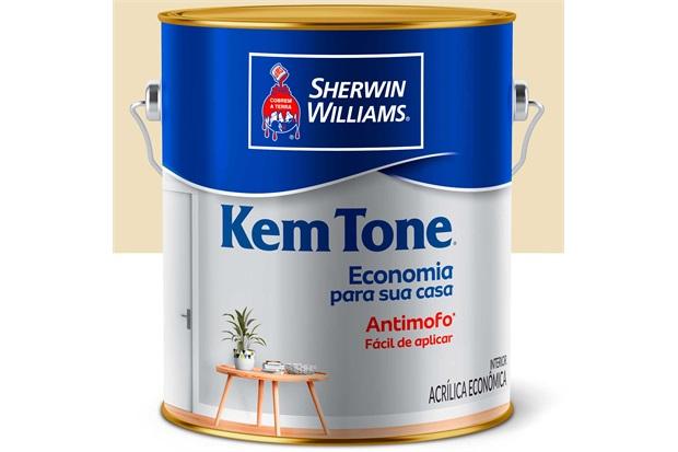 Tinta Acrílica Kem Tone Marfim 3,6 Litros - Sherwin Williams