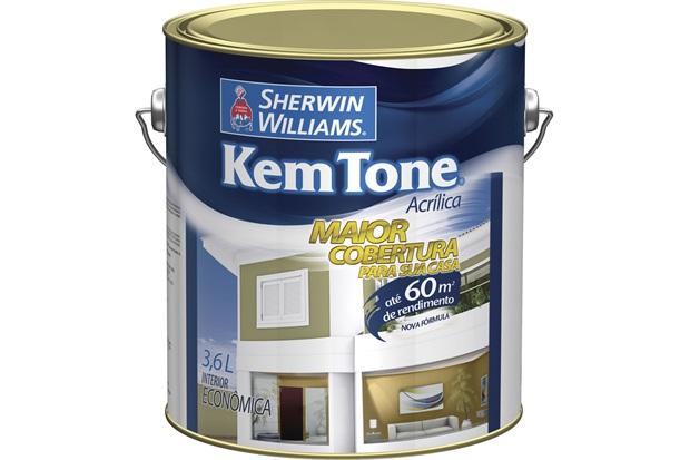 Tinta Acrílica Kem Tone Pérola 3,6 Litros - Sherwin Williams