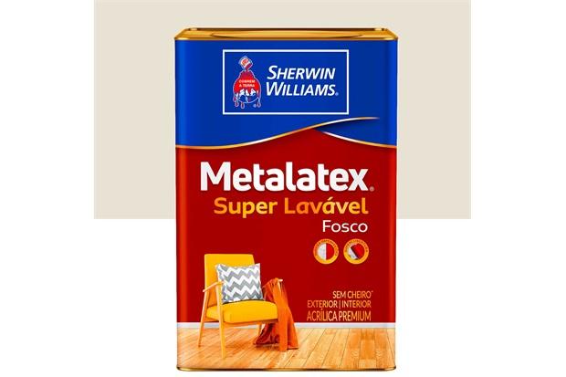 Tinta Acrílica Metalatex Fosco Perfeito Bianco Sereno 18 Litros - Sherwin Williams