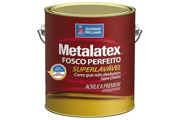 Tinta Acrílica Metalatex Fosco Perfeito Mel 3,6 Litros - Sherwin Williams