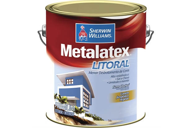 Tinta Acrílica Metalatex Litoral Branca 3,6 Litros - Sherwin Williams