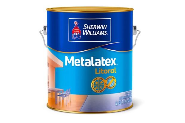 Tinta Acrílica Metalatex Litoral Laranja Sauipe 3,6 Litros - Sherwin Williams