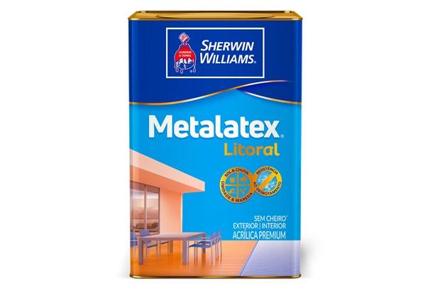 Tinta Acrílica Metalatex Litoral Verde Itacaré 18 Litros - Sherwin Williams
