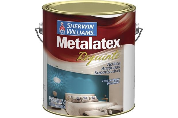 Tinta Acrílica Metalatex Requinte Super Lavável Gelo 3,6 Litros - Sherwin Williams