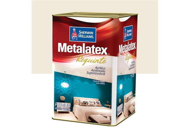 Tinta Acrílica Metalatex Requinte Super Lavável Pérola 18 Litros - Sherwin Williams