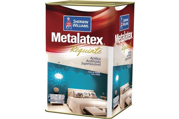 Tinta Acrílica Metalatex Requinte Super Lavável Vanila 18 Litros - Sherwin Williams