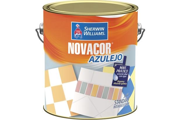 Tinta Acrílica Novacor Azulejo Branco Gelo 3,6 Litros - Sherwin Williams