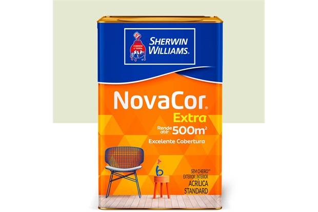 Tinta Acrílica Novacor Extra Standard Fosco Erva Doce 18 Litros - Sherwin Williams