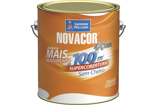Tinta Acrílica Novacor Extra Standard Fosco Terracota Natural 3,6 Litros - Sherwin Williams