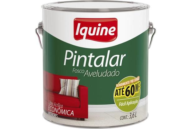 Tinta Acrílica Pintalar Econômica Neve 3,6 Litros - Iquine