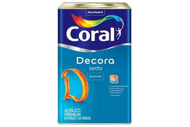 Tinta Acrílica Premium Acetinada Seda Algodão Egípcio 18 Litros - Coral