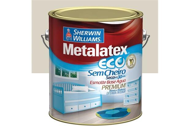 Tinta Eco Esmalte Alto Brilho Gelo 3,6 Litros - Sherwin Williams