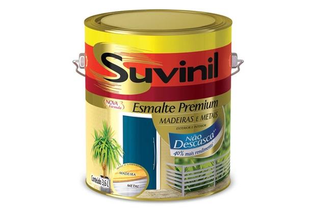 Tinta Esmalte Premium Acetinada Cor & Proteção Branca 3,6 Litros - Suvinil
