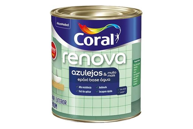Tinta Esmalte Premium Brilhante Wandepoxy Branca 900ml - Coral
