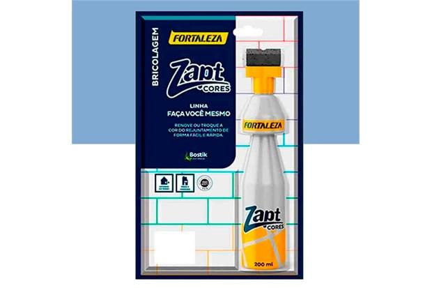 Tinta para Rejunte Zapt Cores Azul 200ml - Fortaleza