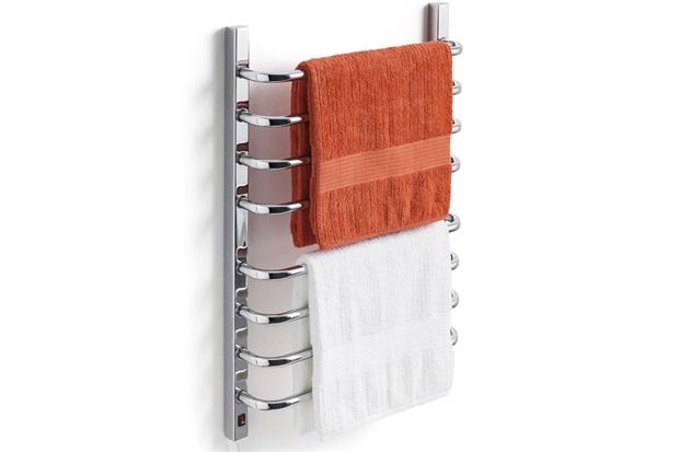 Toalheiro Térmico 220v para 2 Toalhas Fio Lado Esquerdo Cromado - Flape
