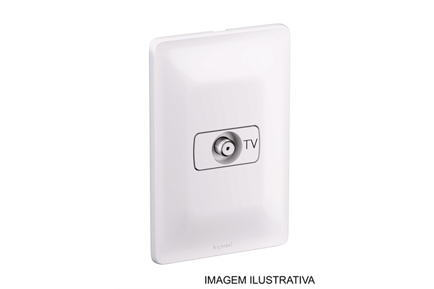 Tomada para Tv Zeffia 680127 4x2 - Pial Legrand