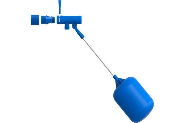 Torneira de Boia com Engate Rápido para Caixa D'Água 1/2'' - Blukit
