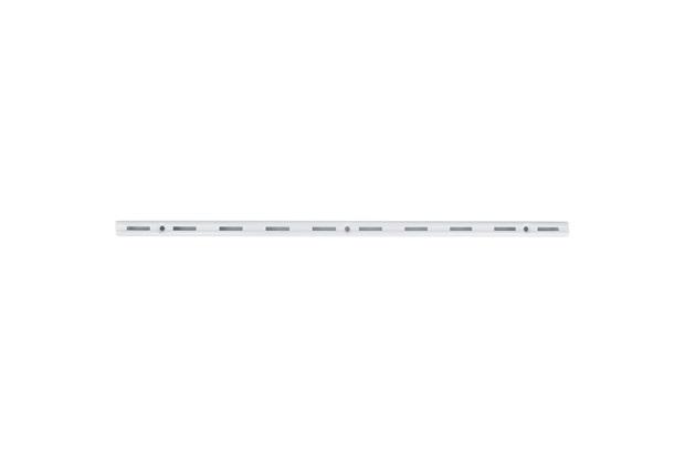 Trilho para Prateleira Versátil em Aço Branco 30cm - Fico Ferragens