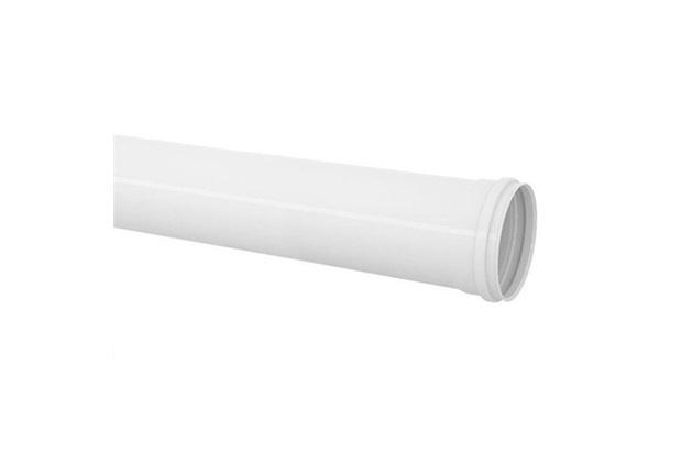 Tubo de Esgoto 100mm com 3 Metros Branco - Tigre