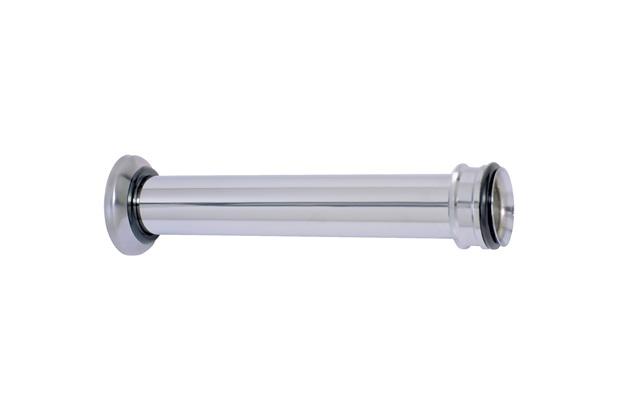 Tubo de Ligação Ajustável para Bacia em Metal 1.1/2x25cm - GTRES